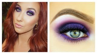 Electric Purple Smokey Eye Tutorial Thumbnail
