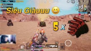 """PUBG Mobile   Đi Săn Thính Flare Gun - Đụng Độ Team """"KILL"""" Cực Hổ Báo 😂"""