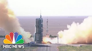 China Launches First Crewed Space Mission Since 2016