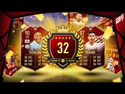 32ND IN THE WORLD FUT CHAMPIONS REWARDS!   FIFA 21 ULTIMATE TEAM