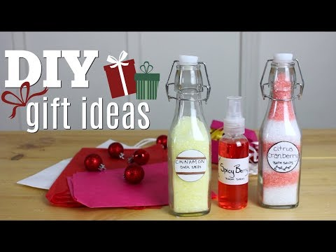DIY Gift Ideas | Bath Salts & Room Spray