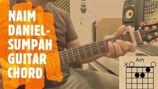 Lagu best tahniah naim daniel - sumpah guitar chord capo 1st fret mudah subscribed and like