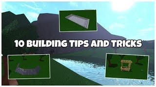 ROBLOX | Welcome To Bloxburg: Building Tips and Tricks | Building Ideas