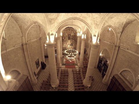 """Iglesia de """"El Salvador"""" La Roda (Albacete) - 4K - Parte 1 (Gopro 4 + Phantom 2)"""