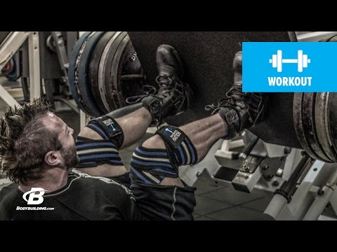Workout for Legs | Kris Gethin's 4Weeks2Shred | Day 11