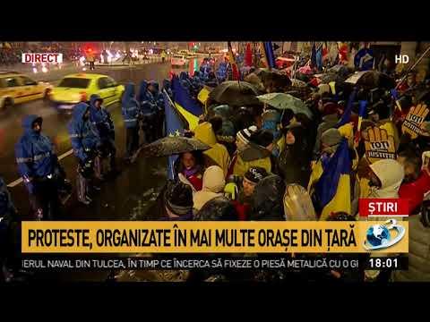 Protestatari din toată țara au ajuns la București. Jandarmii au montat garduri în Piața Univers