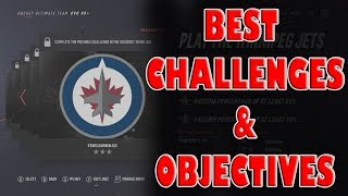 NHL 19 HUT Best Challenges & Objectives to Complete
