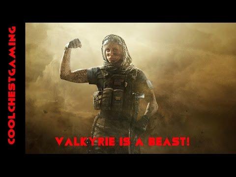 Valkryie - Defensive Operator: Rainbow Six Siege