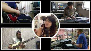 Gambar cover Bruno Mars - Runaway Baby Cover | Groovy Noodles feat. Sharvi Yadav, Crehyl Pereira, Ralph Menezes