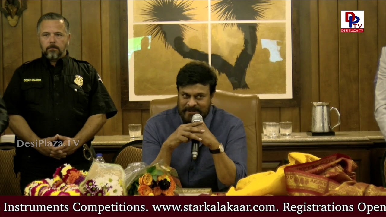 Megastar Chiranjeevi - I had my doubts if Young Generation will accept me or not | DesiplazaTV