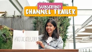 Channel Trailer: I AM NOT A CATEGORY | Sejal Kumar thumbnail
