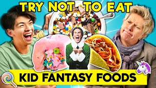 Can YOU Resist Eating Childhood Fantasy Foods