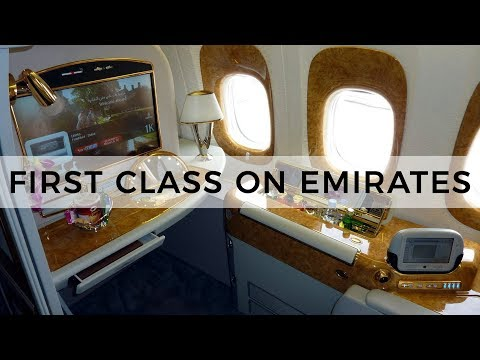 FLYING ON THE $25,000 FIRST CLASS ON EMIRATES