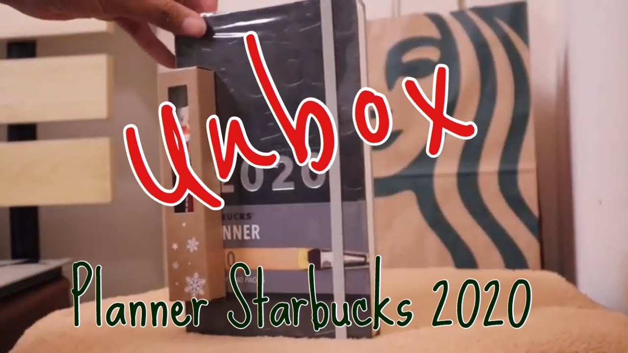 Starbucks Thailand 2020 Planner Set Moleskine LIMITED EDITION Black