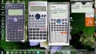 Casio fx-570 ES Emulator,VINRCAL VN--570MS,Casio fx-82ES Scientific calculator