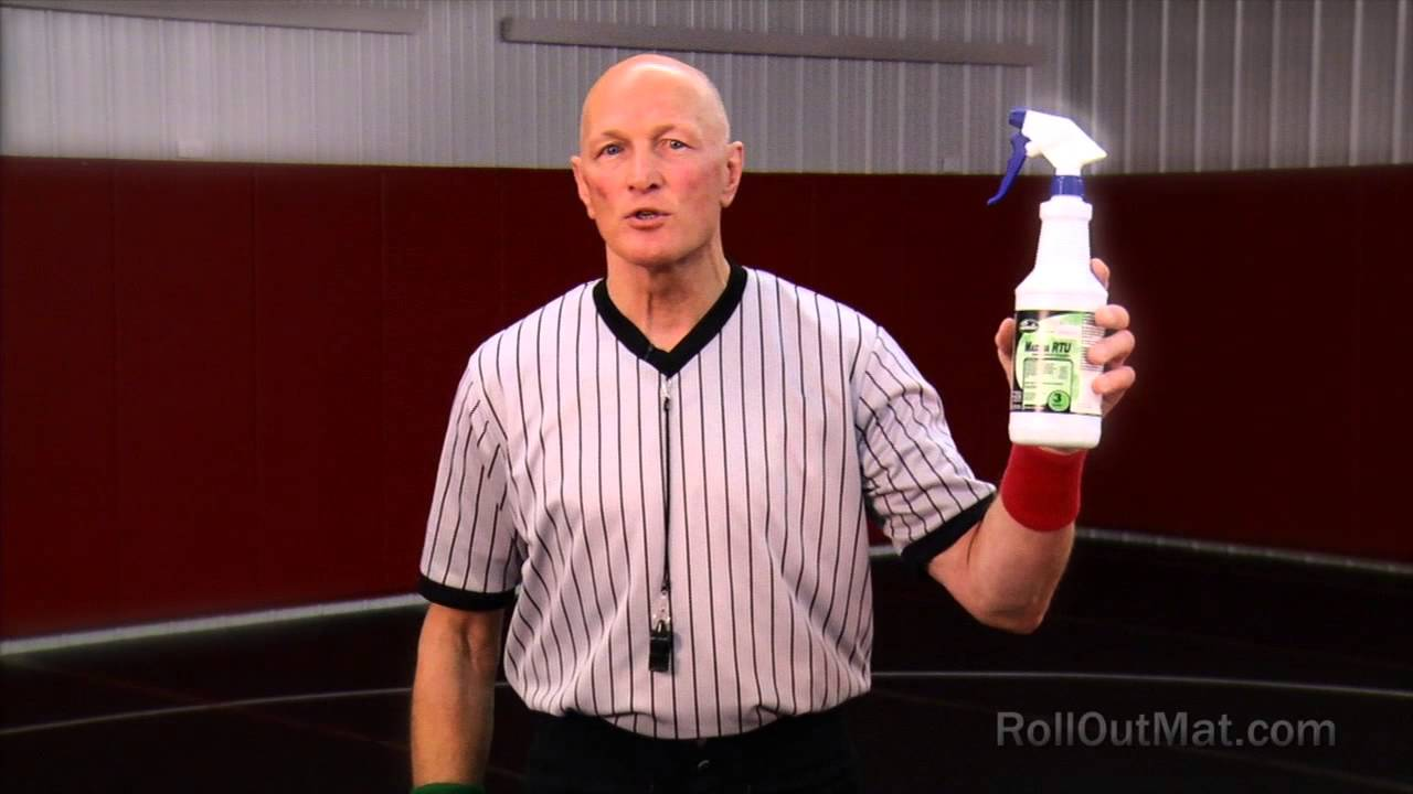How To Clean A Wrestling Mat To Avoid Infection Rolloutmat Youtube