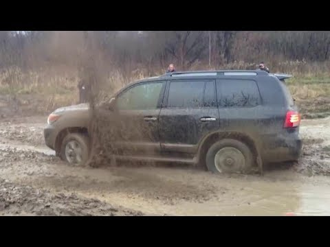 Toyota Land Cruiser 200 - Hard Offroad 4x4 & Mudding