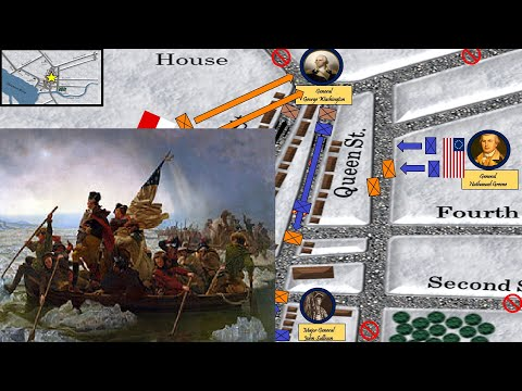 Washington Crosses The Delaware: The Battle That Saved The Revolution (Battle Of Trenton)