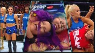Team raw vs Team Smackdown : Survivor Series 2018 (Women's match)