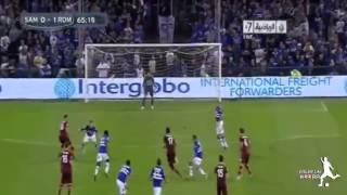 fantastic goal de marocain ben atiya ROMA VS SAMPDORIA