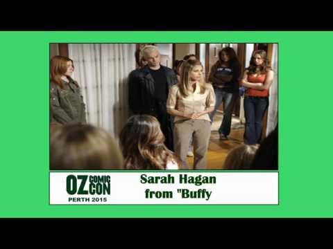 DJ Dave s Sarah Hagan from Buffy OZ Comic Con Komodo Music