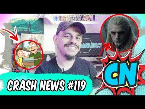 Crash News #119 – Kingsman, Rick and Morty, The Witcher, Evangelion, Agents of SHIELD e mais