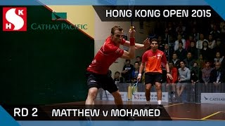 Squash: Hong Kong Open 2015 - Men