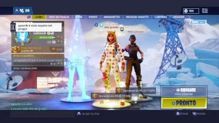 FORTNITE NUONA SKIN AND FALCE PROVINI CLAN FORTNITE