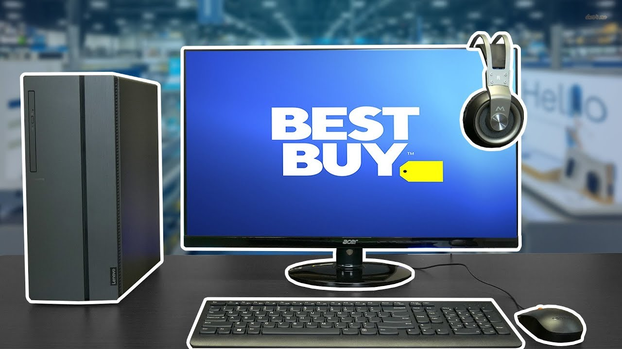 Best Buy Gaming Setup 650 Pc Keyboard Mouse Monitor Youtube