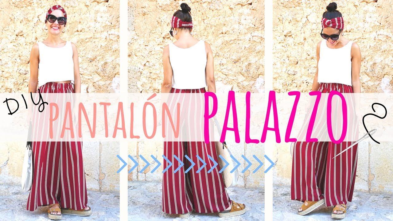 Resultado de imagen para patron pantalon palazzo