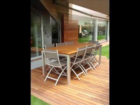Terrazas con madera exterior 01 youtube - Terrazas de madera ...