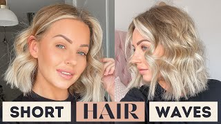 WAVES FOR SHORT HAIR | Lucy Jessica Carter