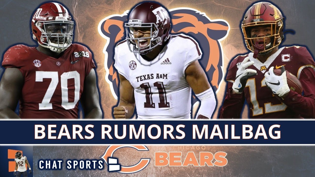 Bears Draft Rumors On Kellen Mond, Rashod Bateman, Alex Leatherwood, Caden Sterns & Kadarius Toney