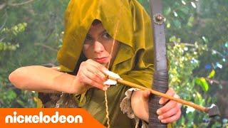 Грозная семейка | Соревнования по стрельбе из лука 🏹 | Nickelodeon Россия