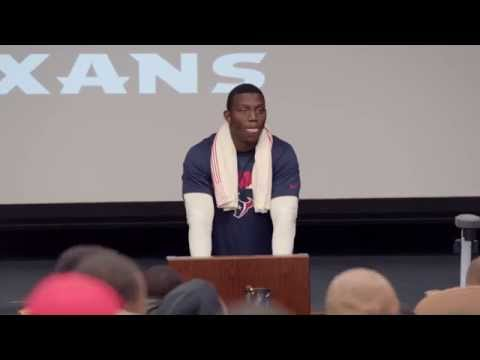 Khari Lee's Bill O'Brien impersonation - 2015 Hard Knocks: The Houston Texans Episode 3 preview