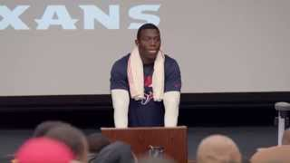 Khari Lee's Bill O'Brien impersonation - 2015 Hard Knocks: The Houston Texans Episode 3 preview 2017 Video