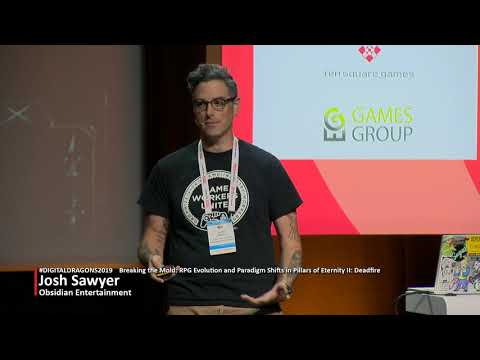 Josh Sawyer - Breaking The Mold RPG Evolution