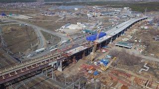 """Масштаб строительства развязки на М-5 """"Урал"""" в Тольятти"""