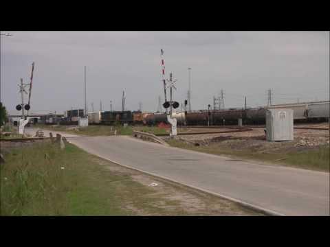 Texas Railfanning: Tower 87 In Houston TX
