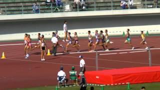 ぎふ国体 少年男子 陸上 3000m 準決勝 2012.10.8