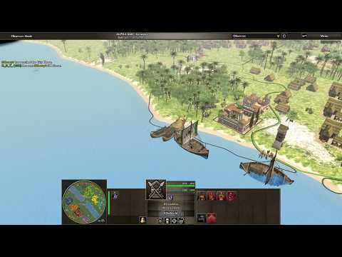 0 A.D. Alpha 22 Replays Game 6 Part 1 Military Intelligence