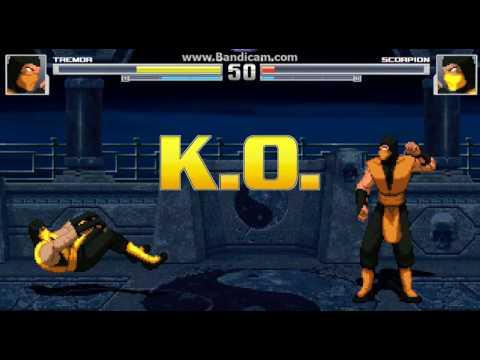 MUGEN: Mortal Kombat Cartoon Edit - TREMOR [DOWNLOAD]