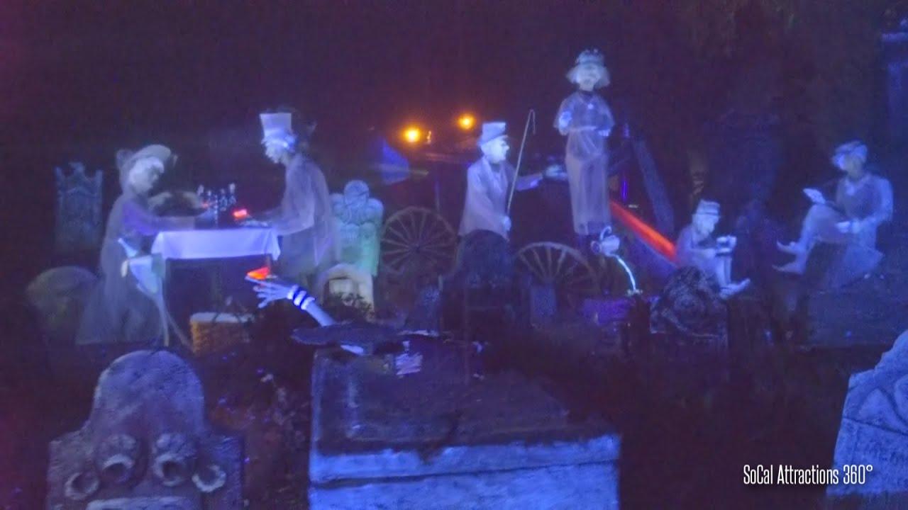 EXTREME Low Light FULL Haunted Mansion RideThrough POV