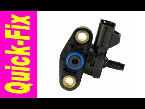 Fuel Rail Pressure Sensor Quick-Fix - YouTube