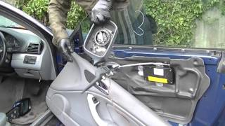 How to Remove a BMW Door Mirror - BMW 3 Series