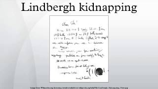 Lindbergh kidnapping