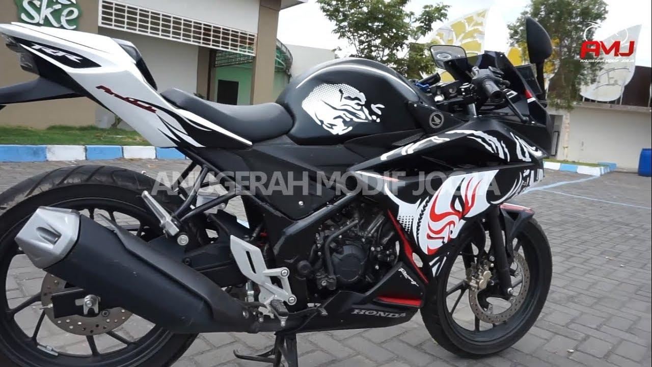 Modifikasi Body Custom Cb150r Ala New Cbr250rr Kabuki Style By All Cb 150r Streetfire Honda Racing Red Kudus