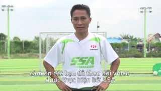 [SSA Sports] Hướng dẫn kỹ thuật khống chế bóng trên không như cầu thủ nổi tiếng Cristiano Ronaldo