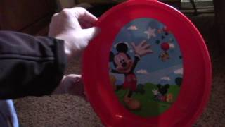 The First Years Disney Baby Mickey Mouse 3 In 1 Celebration Potty System WITH MICAH TOY REVIEW
