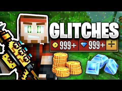 GLITCHES IN PIXEL GUN 3D (FREE GEMS) [16.6.0]